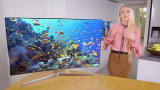 Julia Hardy Presents the New Samsung 4K TV   Very Tech