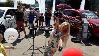 День города Тольятти, шоу мыльных пузырей