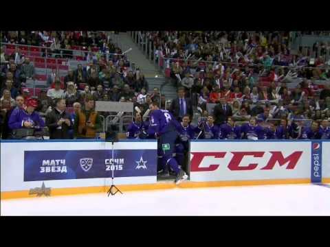 Матч Звезд 2015: Круг на скорость /KHL All Star Game 2015: Fastest Skater