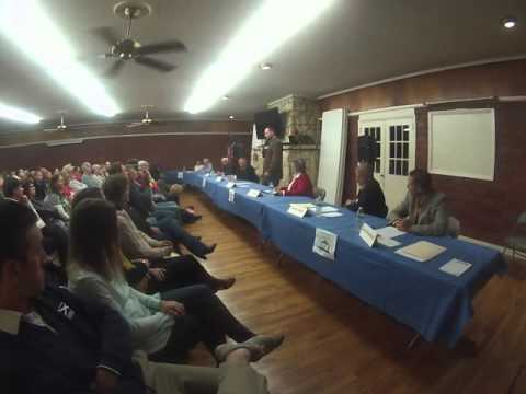 LeClaire Iowa Candidate Forum Oct 28 2015   Part 01