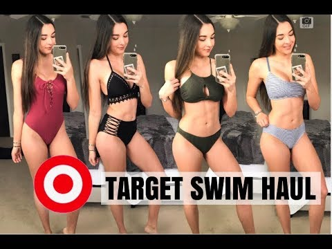 ddf4dce965c1 BATHING SUIT TRY ON HAUL | SPRING/SUMMER 2019 - YouTube