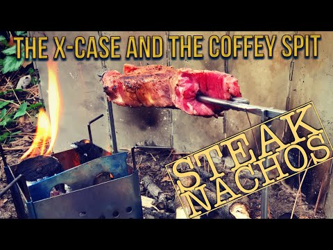 Nachos with the Coffey Spit and the Firebox X-CASE