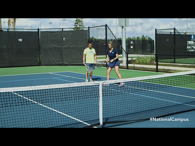 Improve your tennis game: Find your optimal contact point  - Buy American