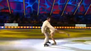Шоу Ледниковый период 2013  10 й выпуск  Албена Денкова и Пeтр Кислов