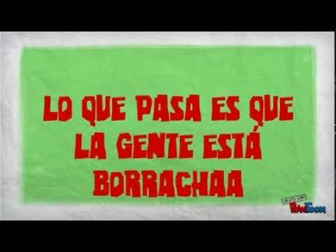 EL GUATO - LA GENTE ESTÁ BORRACHA. (Lyric Video)