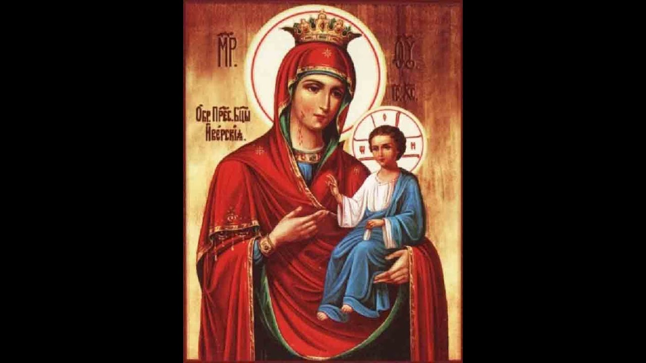 Икона почаевской божьей матери фото