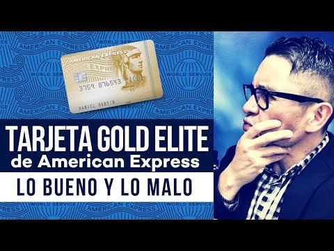 🧐Tarjeta Gold Elite De American Express: Lo Bueno Y Lo Malo