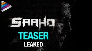 SAAHO Teaser LEAKED | Prabhas Saaho Movie Teaser | #Saaho Movie | #SaahoTeaser | Telugu Filmnagar