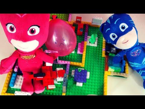 IL NUOVO QUARTIER GENERALE dei PJ MASKS SUPER PIGIAMINI inventato con le costruzioni LEGO