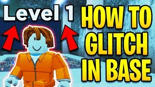 How To GLITCH Into The NEW CRIMINAL BASE! *NO LEVEL 20 REQUIRED* | Roblox Jailbreak Winter Update