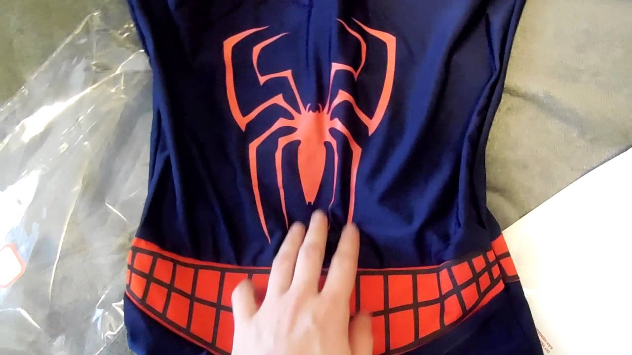 Spiderman suit unboxing - YouTube