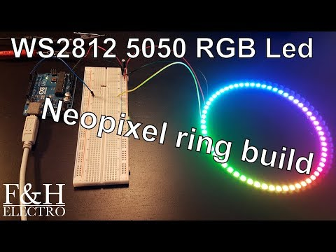 Download How To Light Up Ws2812 Led Ring With Arduino In 2