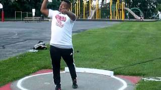 Tim Faranda, 2014 summer throws, with nice PR's