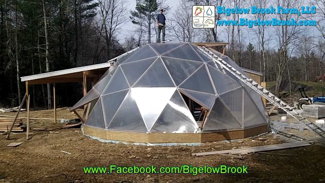 Geodesic Dome Greenhouse - Part 12 Teaser