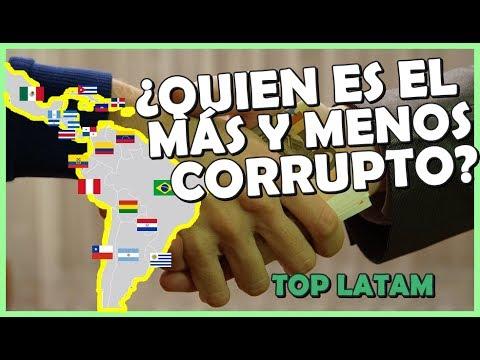 Corrupción en Latinoamérica 2017 ¿Quien es mas y menos corrupto? | Peruvian Life