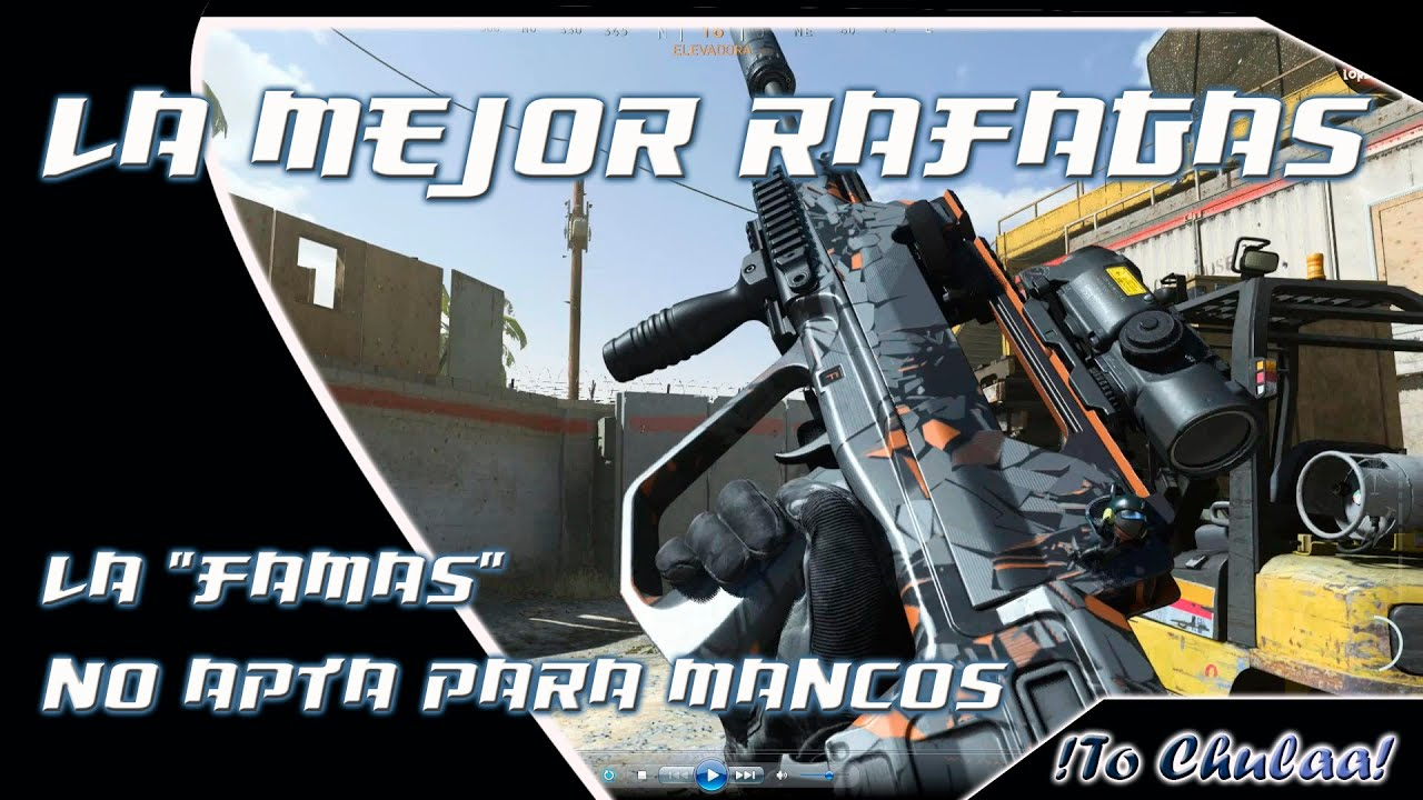 """Download Warzone FR 5.56 """"Famas"""" mejor que AUG/M16 , clase y truquito ^^"""