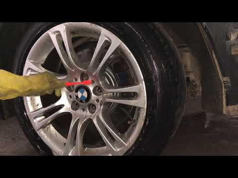 cleaning bmw alloy wheels using toilet cleaner