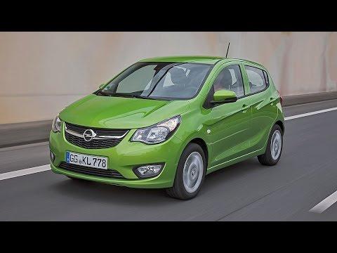 Opel Karl (2015) - Erste Fahrt