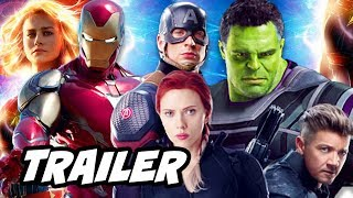Captain Marvel Trailer - Avengers Endgame Armor Teaser Breakdown