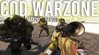 Call of Duty Warzone Making Changes...