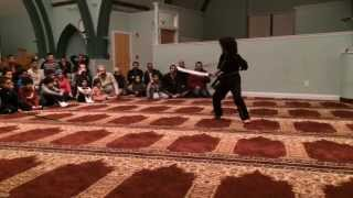 Nassim Young Dragon AMXMA DEMO @ Al-Noor Academy 3/15/2014