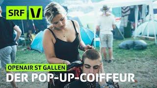 Download Openair St. Gallen: Der mobile Friseursalon | Festivalsommer 2019 | SRF Virus Mp3 and Videos