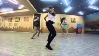 New Dancehall Routine by Inga - Konshens ft. J Capri – Pull Up To Me Bumper