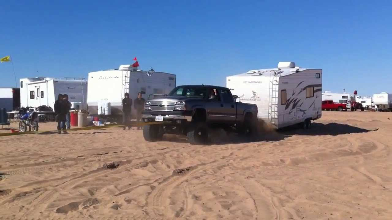 Josh S 6 0 Pulling Out Loaded Chevy And Trailer Quot Glamis