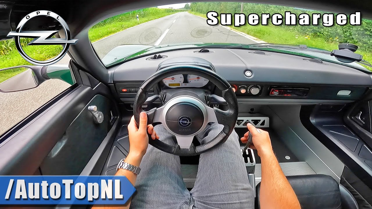 OPEL SPEEDSTER | 2.2 SUPERCHARGED 250HP POV Test Drive by AutoTopNL