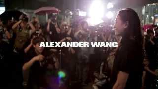 ALEXANDER WANG BEIJING, CHINA FLAGSHIP STORE FEAT. A$AP ROCKY, DIPLO, PENN BADGLEY