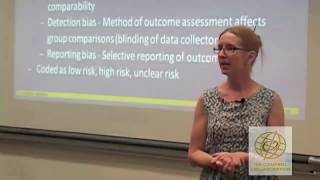 Coding for systematic reviews and meta-analysis, Sandra Wilson
