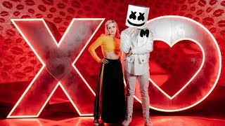 marshmello anne marie friends new song fb live