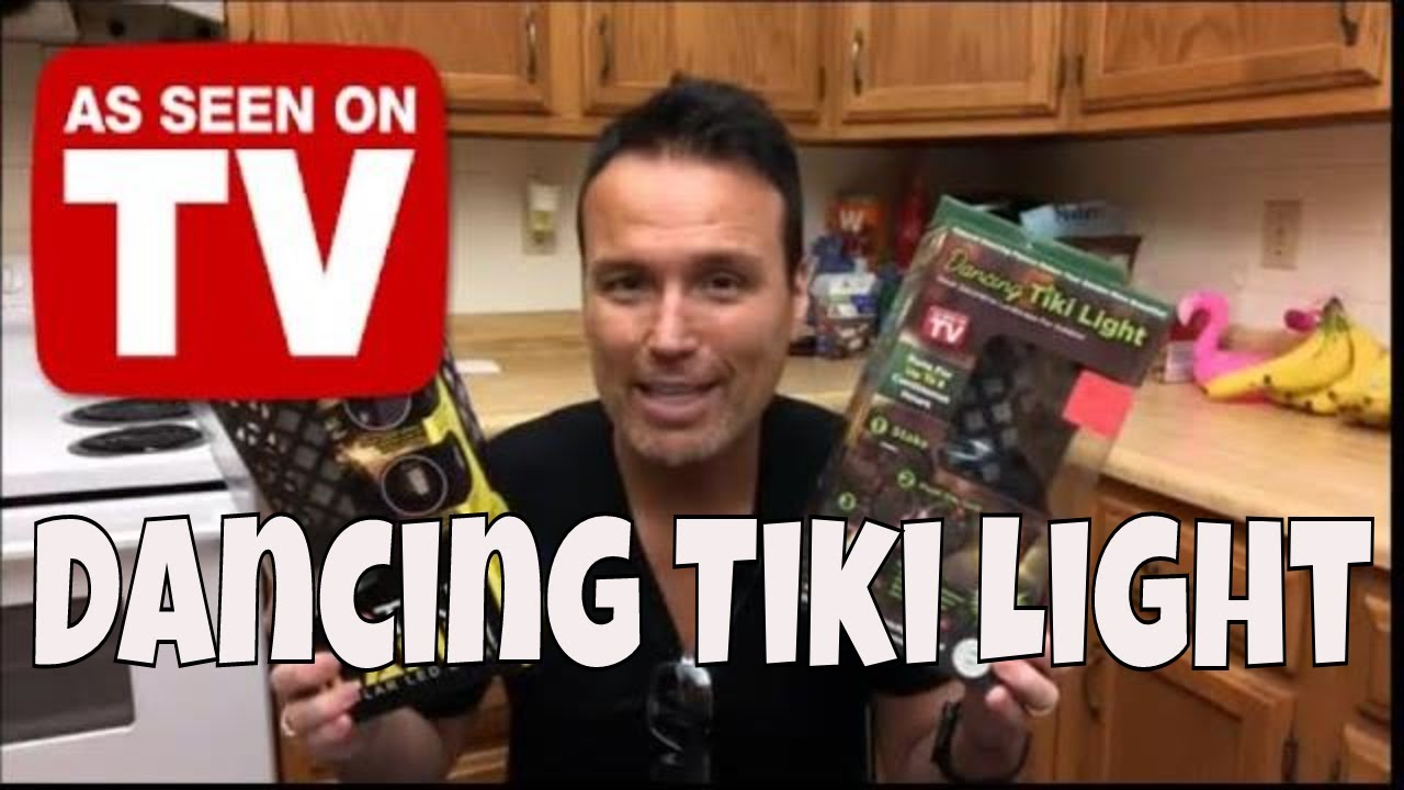Dancing Tiki Light As Seen On Tv Product Testing Youtube