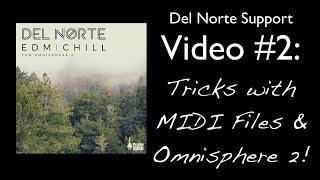 Del Norte EDM / Chill Tutorial #2: Fun with MIDI Files!