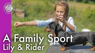 A Family Sport - Lily & Rider