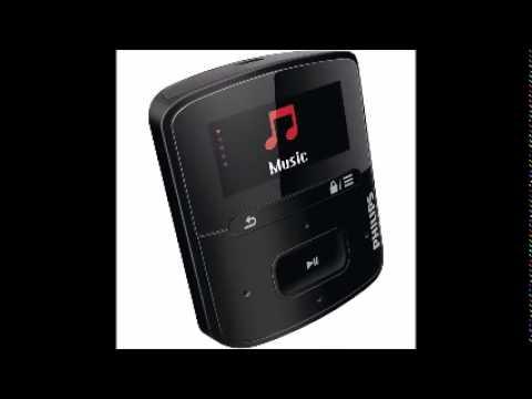 Philips SA4RGA02KFS 37 GoGEAR Raga Sport Pack MP3 Players   Black