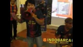 Acoustic song - Lionel Messi (INDOBARCA - Indonesia Barcelona Fans Club)