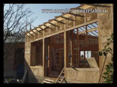 Construction de maison en paille sur energie renouvelable for Autoconstruction maison en paille