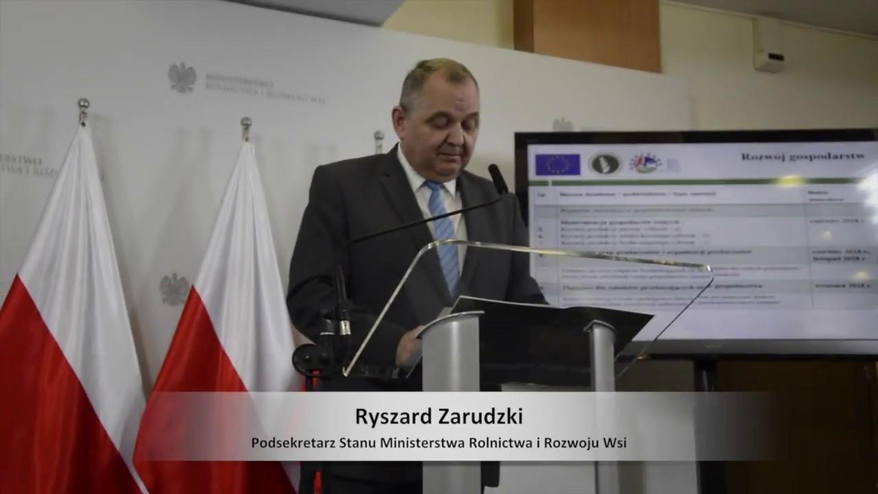 Harmonogram naboru wniosków z PROW 2014-2020 w 2018 roku