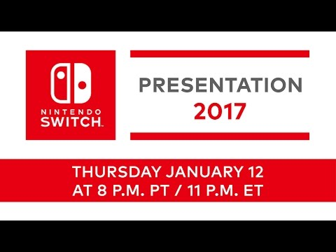 Nintendo Switch Presentation 2017