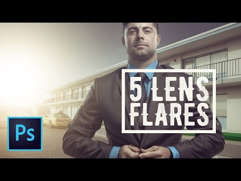 Five Different Ways To Create Amazing Lens Flares In Photoshop CC – (Free Light Leak Download!)