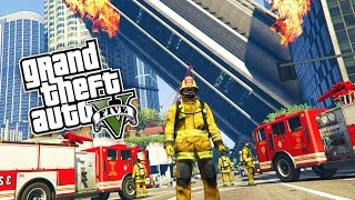 GTA 5: ULTIMATIVE FEUERWEHR MOD ! - REAL LIFE FIRE FIGHTER | iCrimax