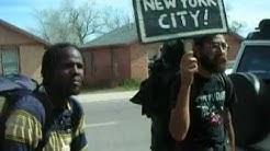 Occupy Walk USA-Ash Fork AZ.  4/10/12