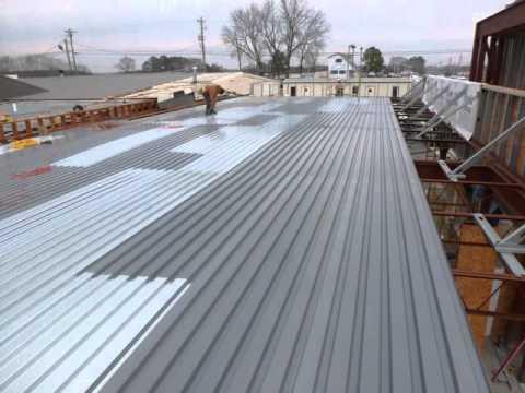 Flat Roofing Spradlin Construction Huntsville AL