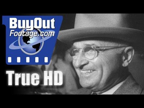 President Harry S. Truman Returns To Washington 1951 | HD Footage