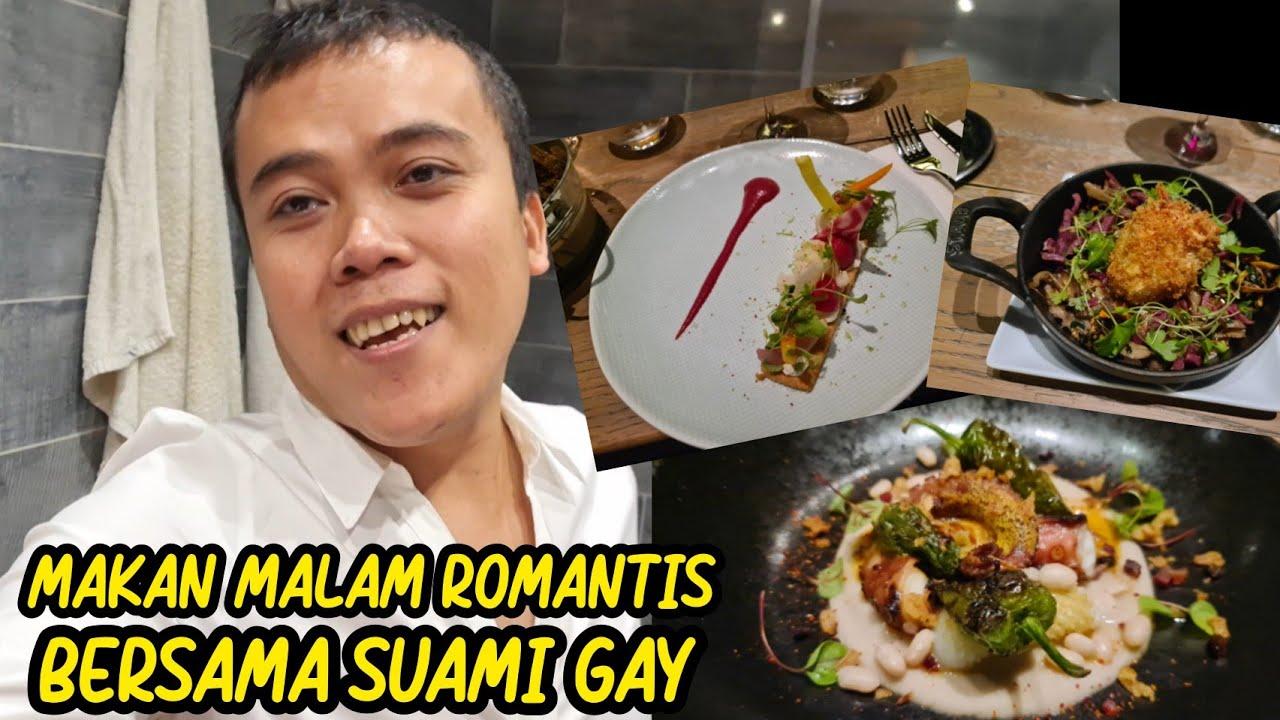 SUAMI GAY NGAJAK MAKAN MALAM ROMANTIS DI RESTORAN MEWAH
