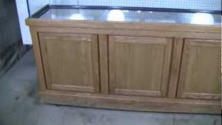 Great Lakes Aquariums 30 Inch High Oak Stand.mp4
