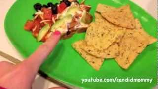 Quick 7-layer Bean Dip