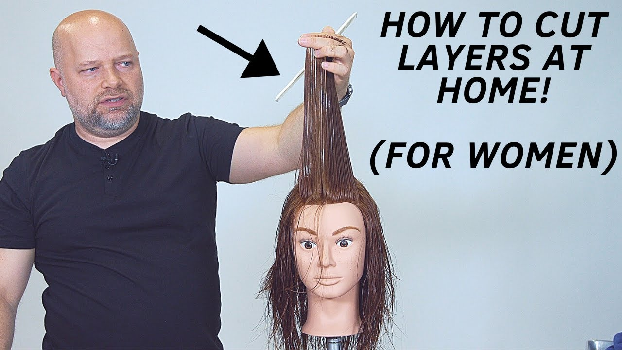 How to Layer Your Own Hair at Home – TheSalonGuy