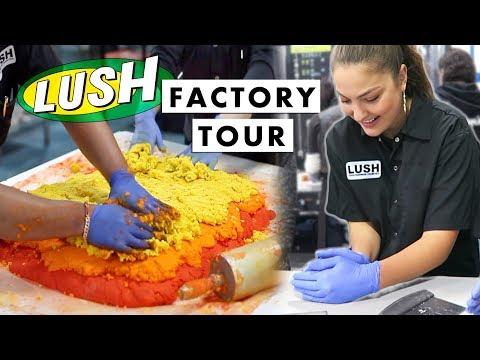 LUSH FACTORY TOUR 2018